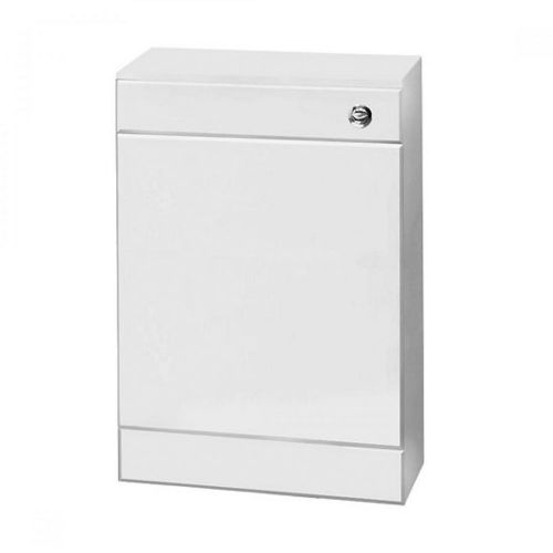 Compact 500mm White Gloss Wc Unit Inc Concealed Cistern